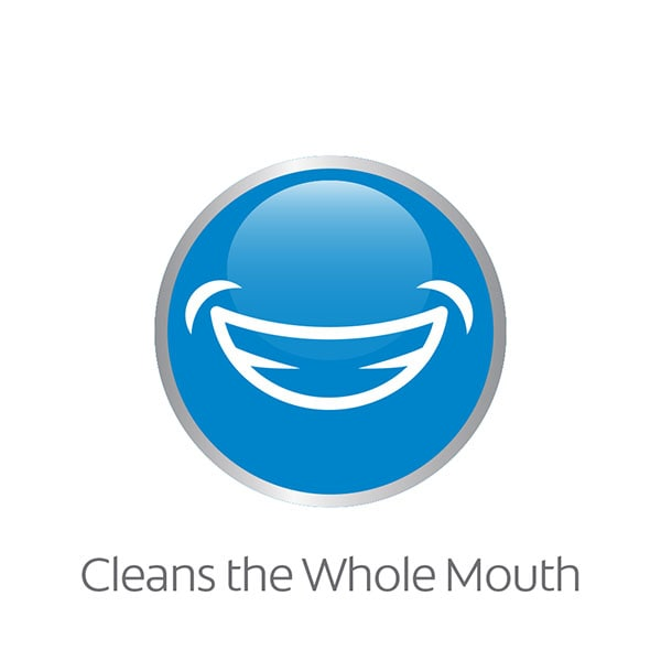 mouth rinse whole mouth clean