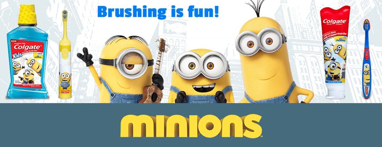 Minion's oral care products