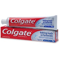 COLGATE® BAKING SODA AND PEROXIDE WHITENING