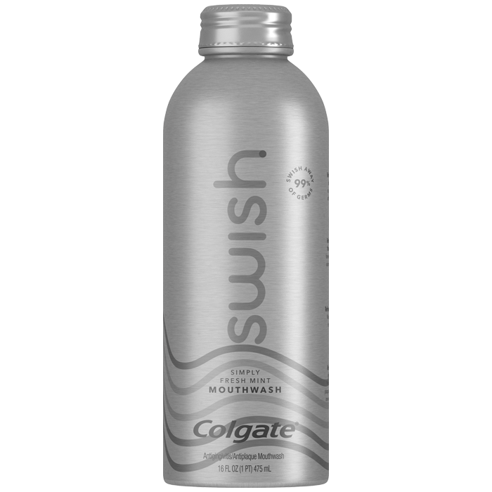 Swish by Colgate<sup>®</sup> Mouthwash - Simple Fresh Mint