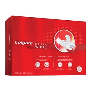 professional whitening at home