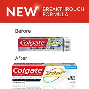 Colgate Total® Advanced Deep Clean toothpaste