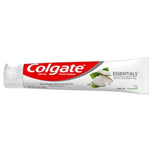 Colgate® Essentials™ Whitening Toothpaste with Coconut Oil