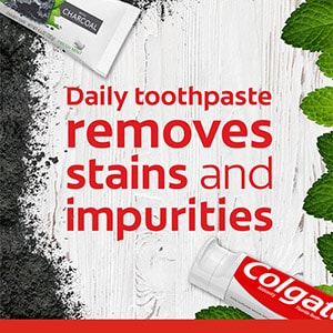 Colgate Essentials™ Toothpaste with Charcoal