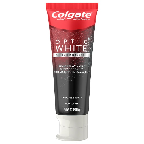 Crema Dental Colgate® Optic White® con Carbón