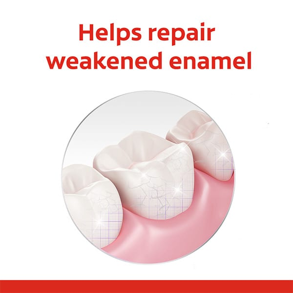 remineralizing repairs enamel