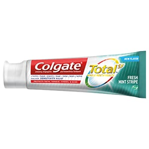 Colgate Total® Fresh Mint Stripe Gel Tootpaste