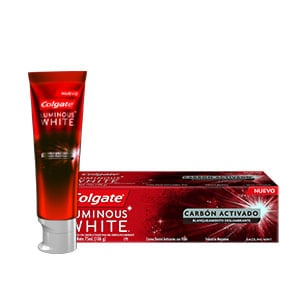 Colgate® Luminous White Carbón Activado