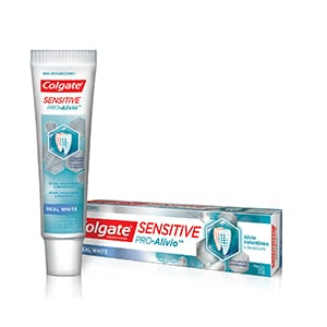 Colgate® Sensitive Pro-Alivio™ Real White