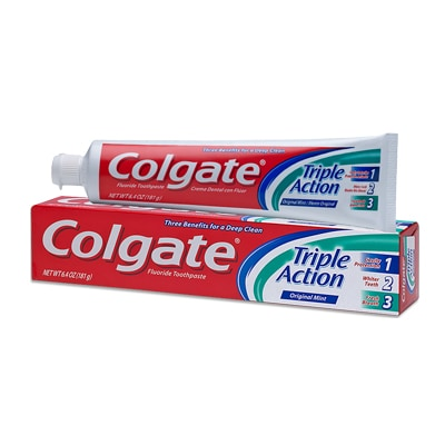 Crema Dental Colgate Triple Action
