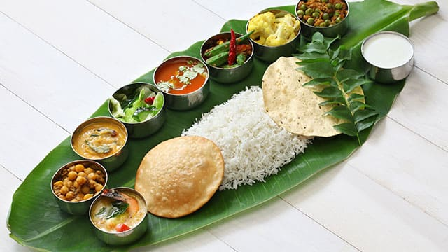 Healthy and traditional Indian meals good for teeth