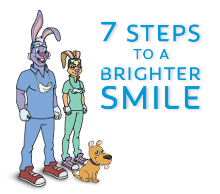 Dr. Rabbit 7 Steps to a Brighter Smile