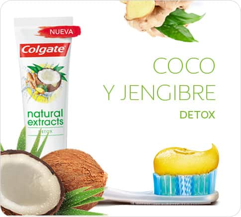 Colgate Natural Extracts Coco y Jengibre Detox