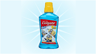 Try Minions™ Bello™ Bubble Fruit® Mouthwash