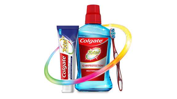 Try Colgate TotalSF Advanced Whitening Toothpaste