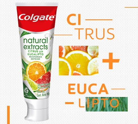Colgate Natural Extracts Citrus y Eucalipto